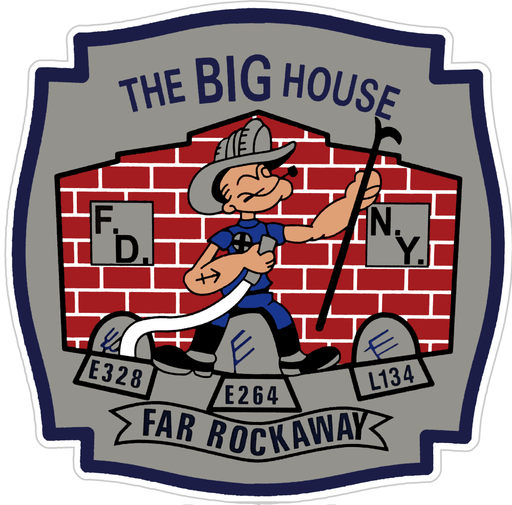 Custom Listing for Steven F. - The Big House - Far Rockaway - Fire Safety Decals