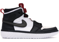 Jordan 1 High React Black White Gym Red