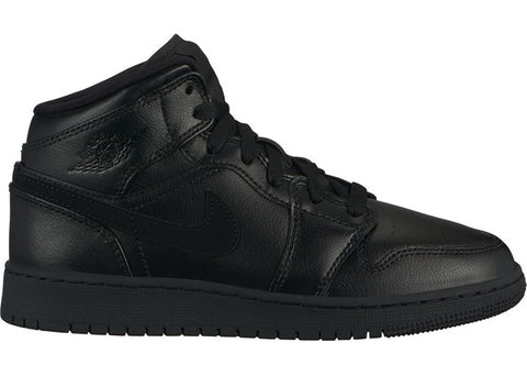 Jordan 1 Mid Black (GS)