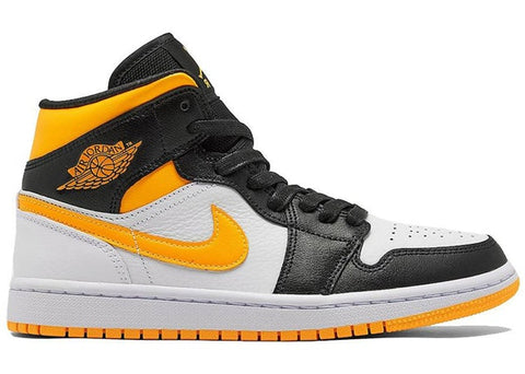 Jordan 1 Mid Laser Orange Black (W)