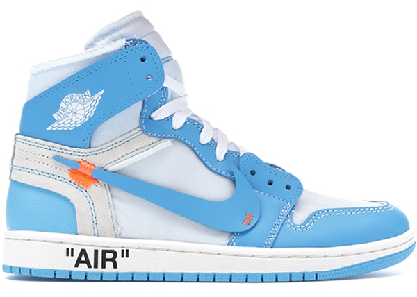 Jordan 1 Retro High Off-White University Blue