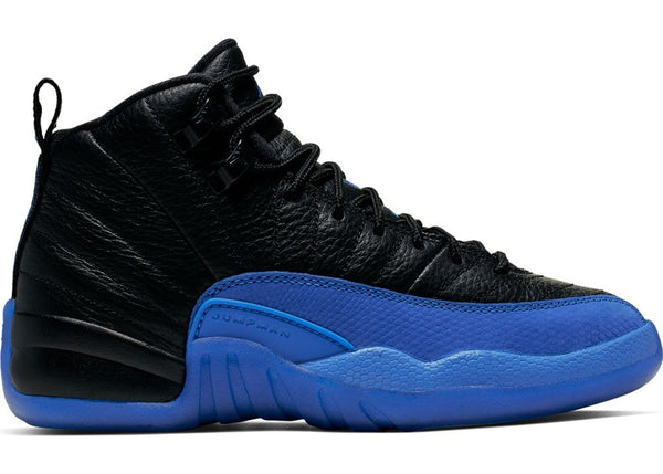 Jordan 12 Retro Black Game Royal (GS)