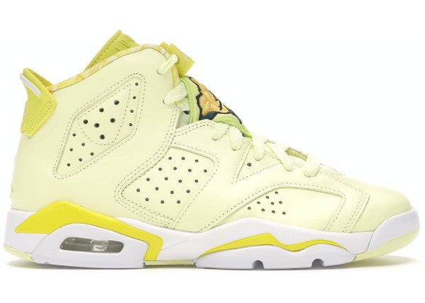 Jordan 6 Retro Dynamic Yellow Floral (GS)