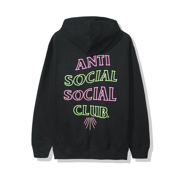 Anti Social Social Club 777 Hoodie Black