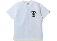 BAPE Silicon College One Point T-Shirt White