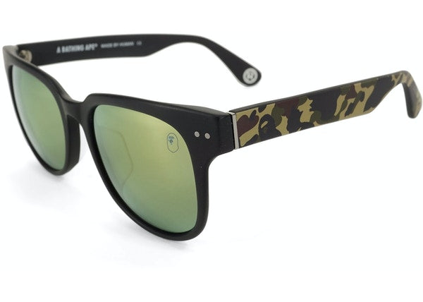 BAPE Green Camo Sunglasses Green