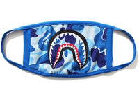 BAPE ABC Camo Shark Mask Blue