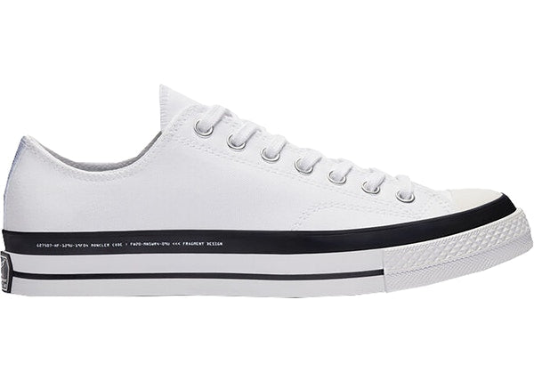Converse Chuck Taylor All-Star 70s Ox 7 Moncler Fragment White