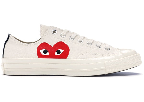Converse Chuck Taylor All-Star 70s Ox Comme des Garcons PLAY White