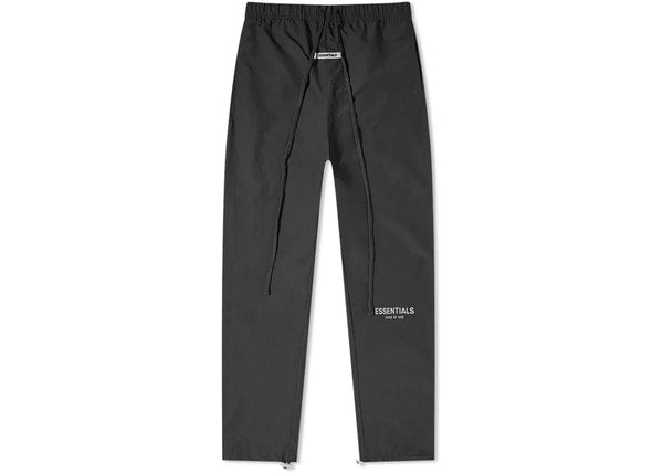 FEAR OF GOD ESSENTIALS Nylon Track Pants Black