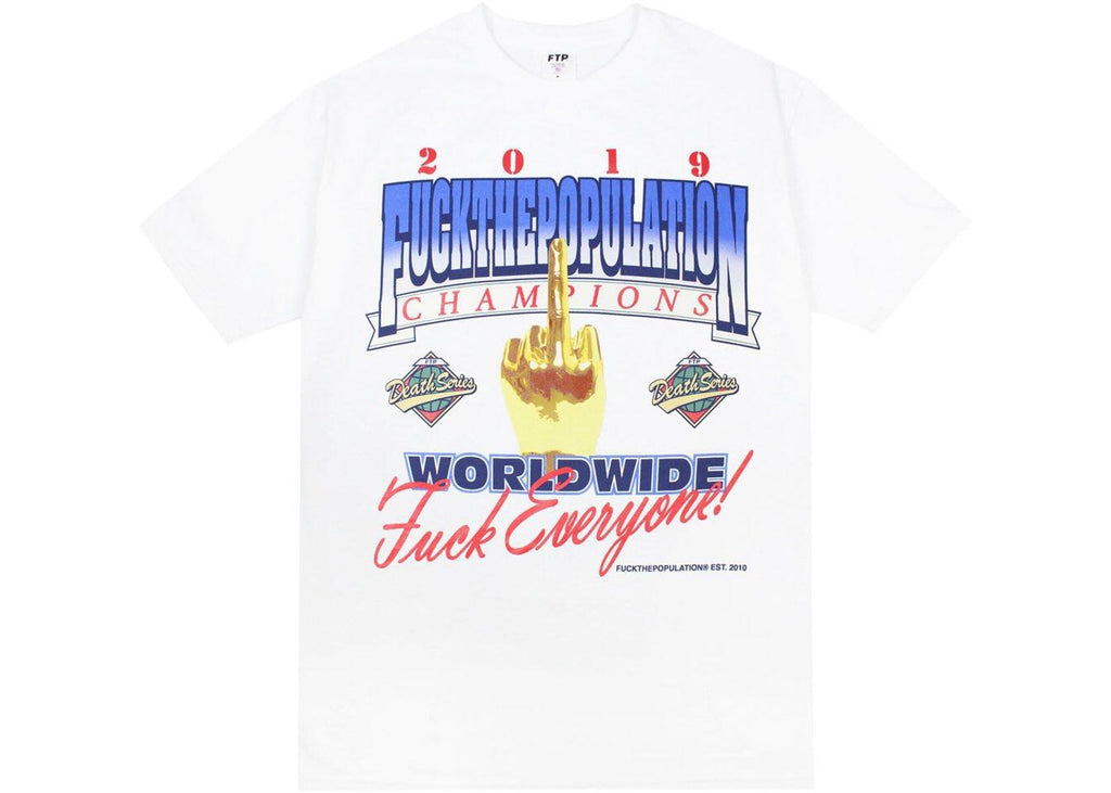 FTP Championship Tee White