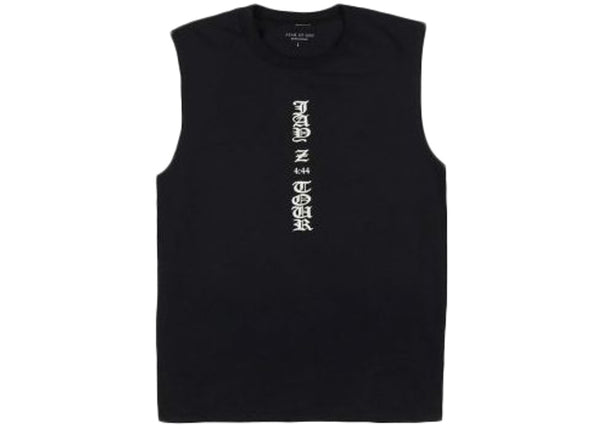 FEAR OF GOD Jay-Z Sleeveless Tee Black