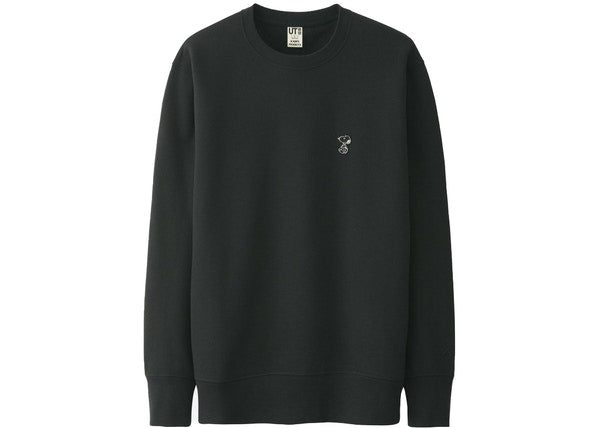 KAWS x Uniqlo x Peanuts Small Snoopy Sweatshirt Black
