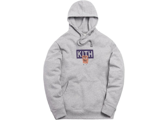 Kith Treats x Cinnamon Toast Crunch Hoodie Light Heather Grey