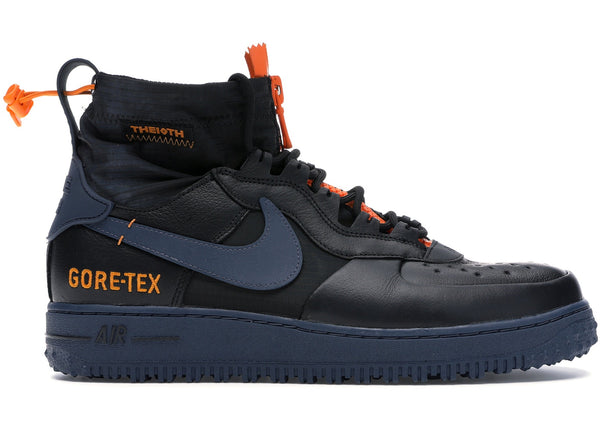 Air Force 1 Winter Gore-tex Black Bright Ceramic Thunder Blue