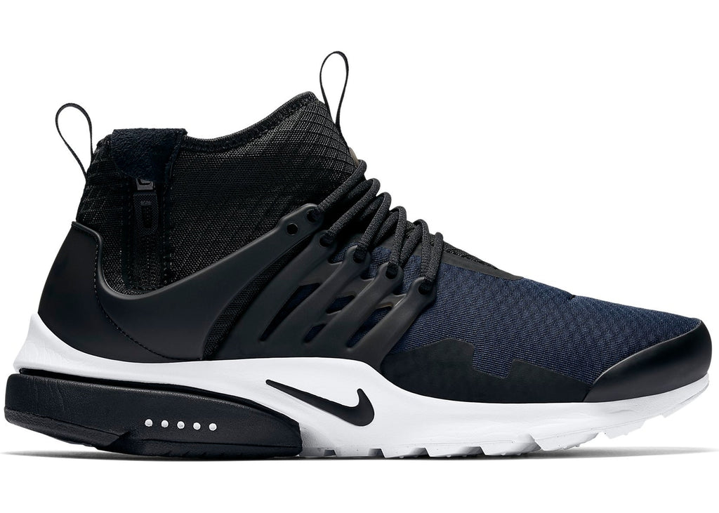 Air Presto Mid Obsidian Black