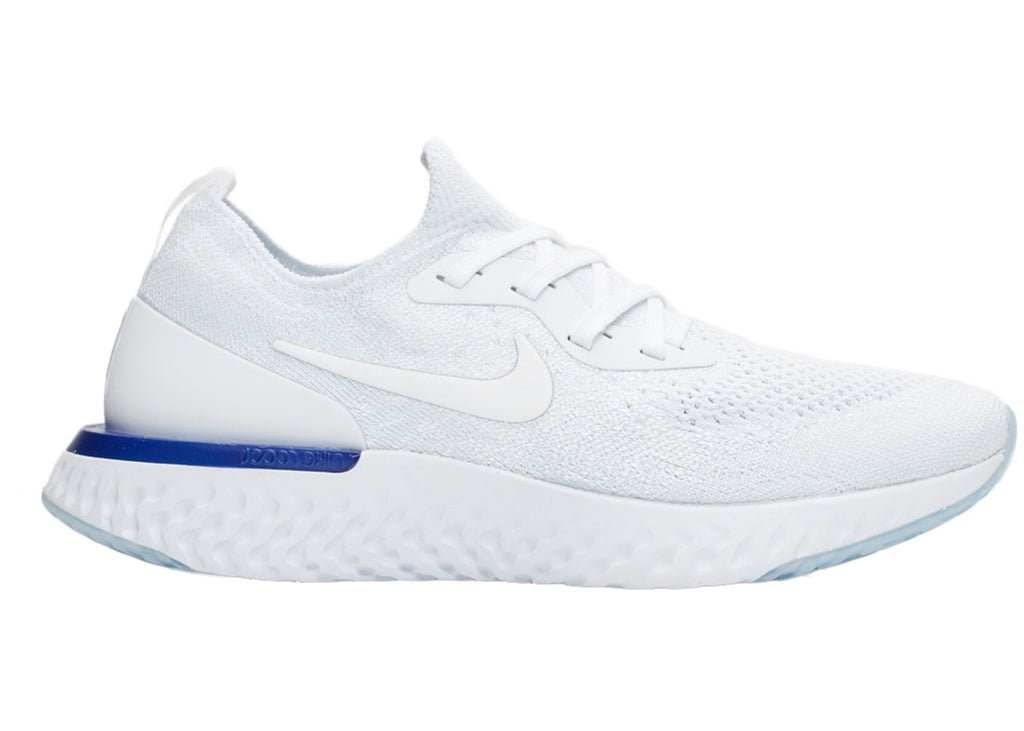 Nike Epic React Flyknit White Racer Blue (W)