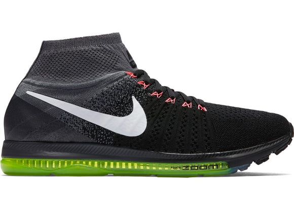 Nike Zoom All Out Flyknit Black White Volt (W)