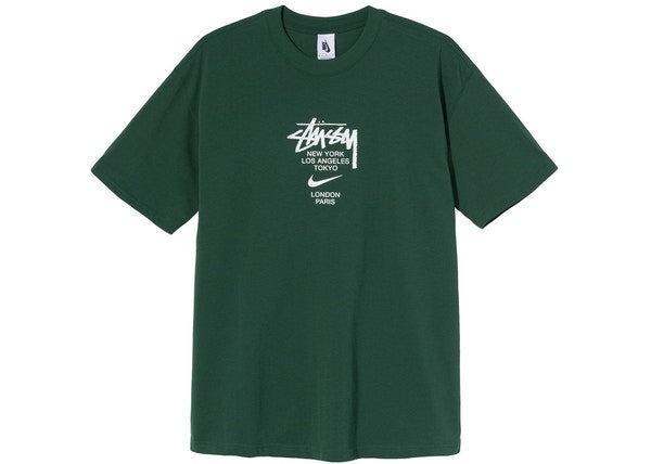 Nike x Stussy International T-Shirt Green