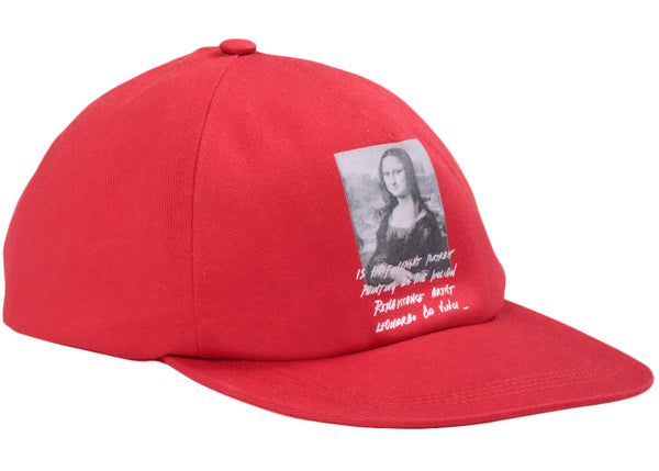 OFF-WHITE Monalisa Hat Red/Black/White