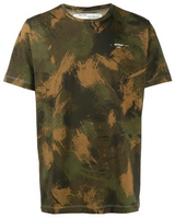 OFF-WHITE Paintbrush Camo Tee Multi