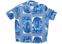 Palace Nicked Shirt Blue