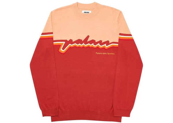Palace Sportivo Knit Peach