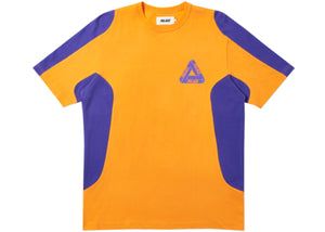 Palace Tex T-Shirt Orange/Purple