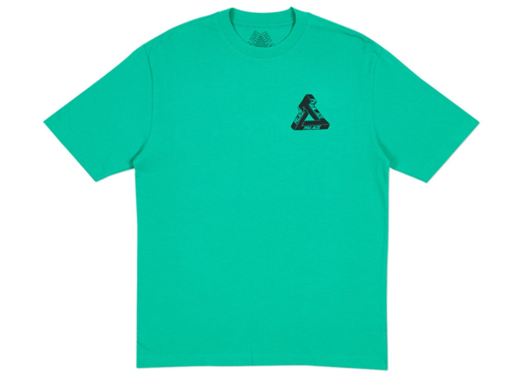 Palace Tri-Wobble T-Shirt Pool Green