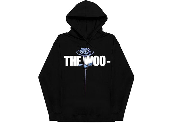 Pop Smoke x Vlone The Woo Hoodie Black