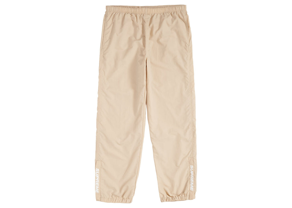 Supreme SS18 Warm up pants tan