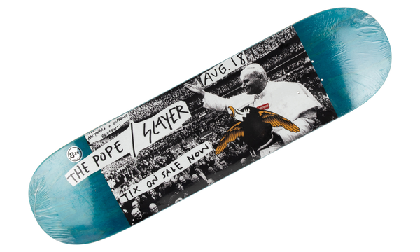 Supreme Anti Hero Pope Slayer Deck Blue