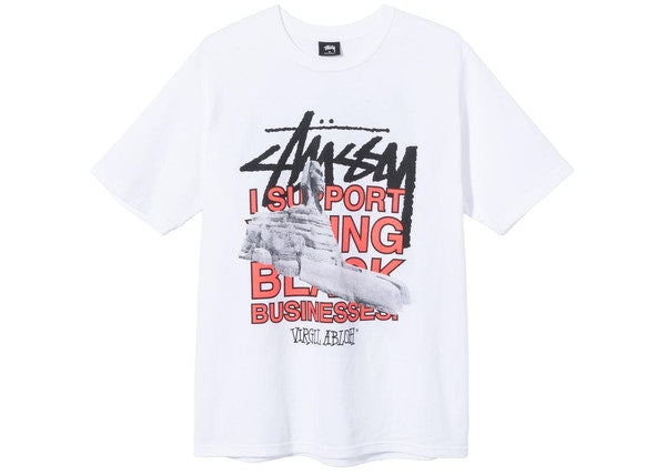 Stussy x Virgil Abloh World Tour Collection T-Shirt White