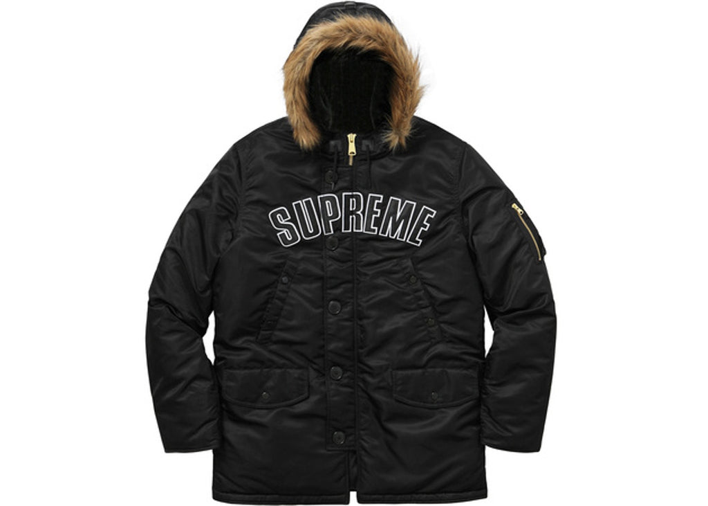 Supreme Arc Logo N3B Parka Black