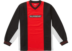 Supreme Barbed Wire Moto Jersey Red