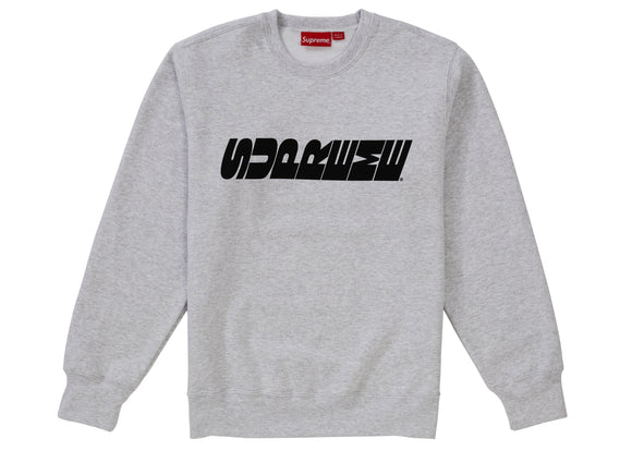 Supreme Breed Crewneck Ash Grey