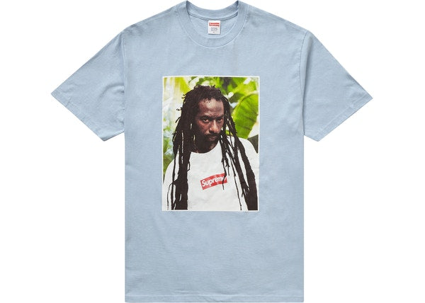 Supreme Buju Banton Tee Light Blue