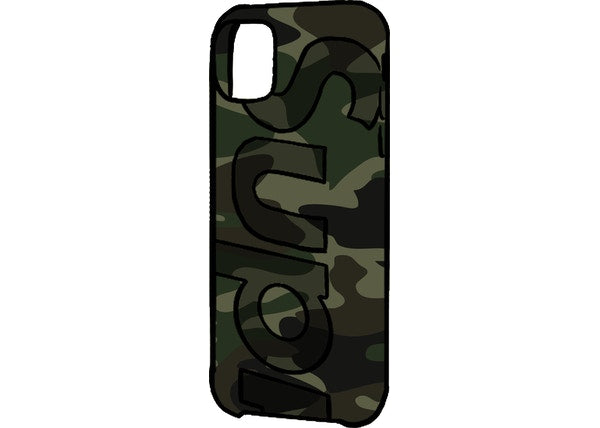 Supreme Camo iPhone Case Woodland Camo