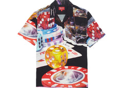 SUPREME CASINO RAYON SHIRT BLACK