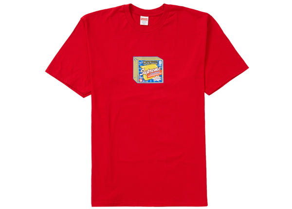 Supreme Cheese Tee Red