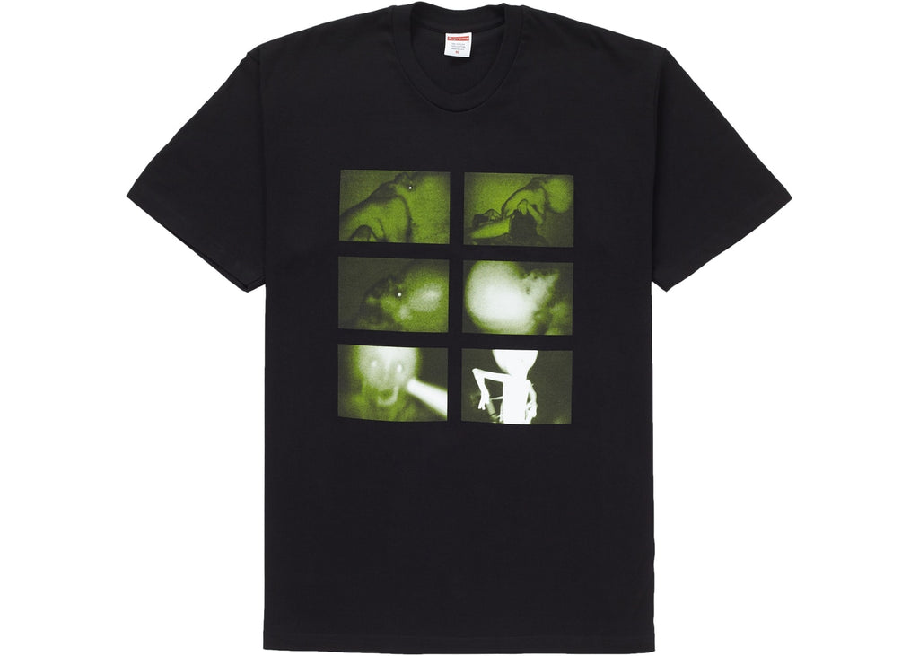 Supreme Chris Cunningham Rubber Johnny Tee Black