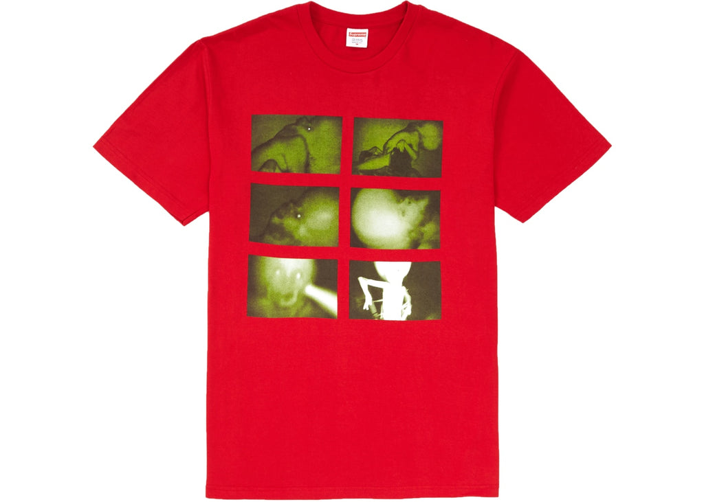 Supreme Chris Cunningham Rubber Johnny Tee Red