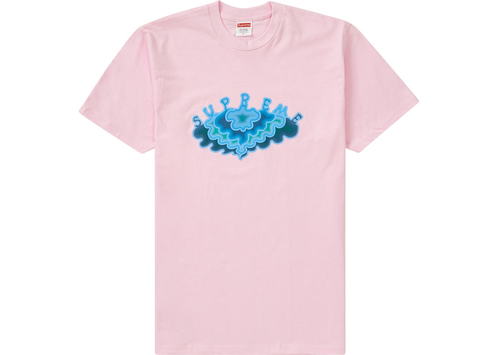 Supreme Cloud Tee Light Pink