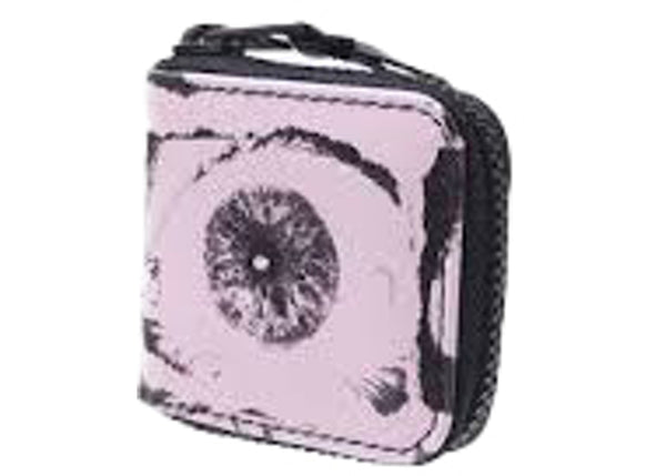 Supreme Comme des Garcons SHIRT Small Eyes Coin Pouch Pink