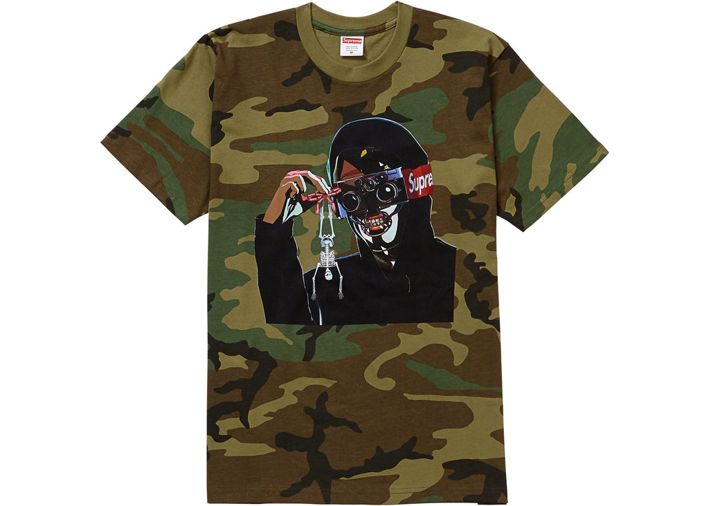 Supreme Creeper Tee Woodland Camo