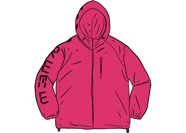 Supreme Digital Logo Track Jacket Fuchsia