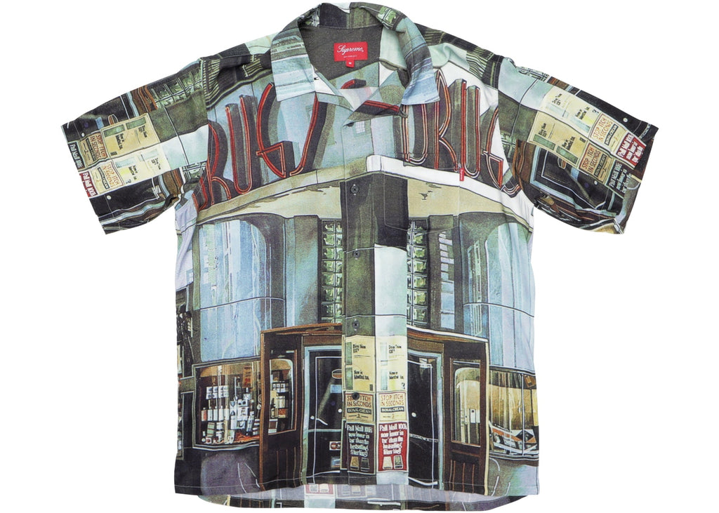 Supreme Drugs Rayon Shirt Multicolor