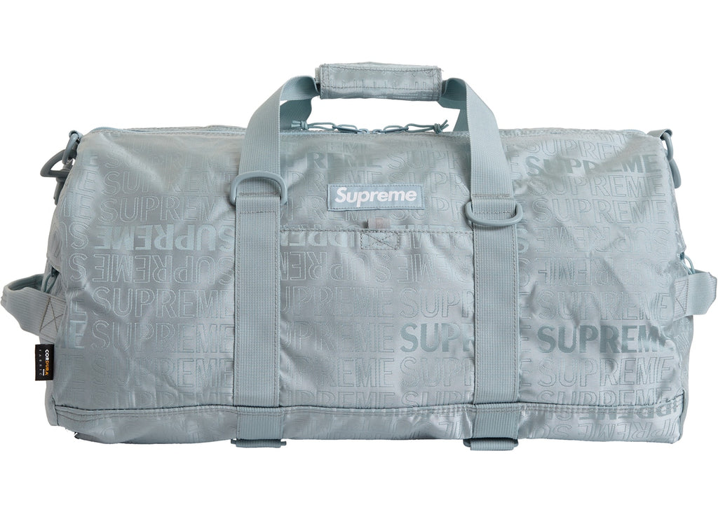 Supreme Duffle Bag (SS19) Light Blue