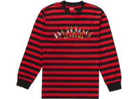Supreme Flags L/S Top Red Stripe