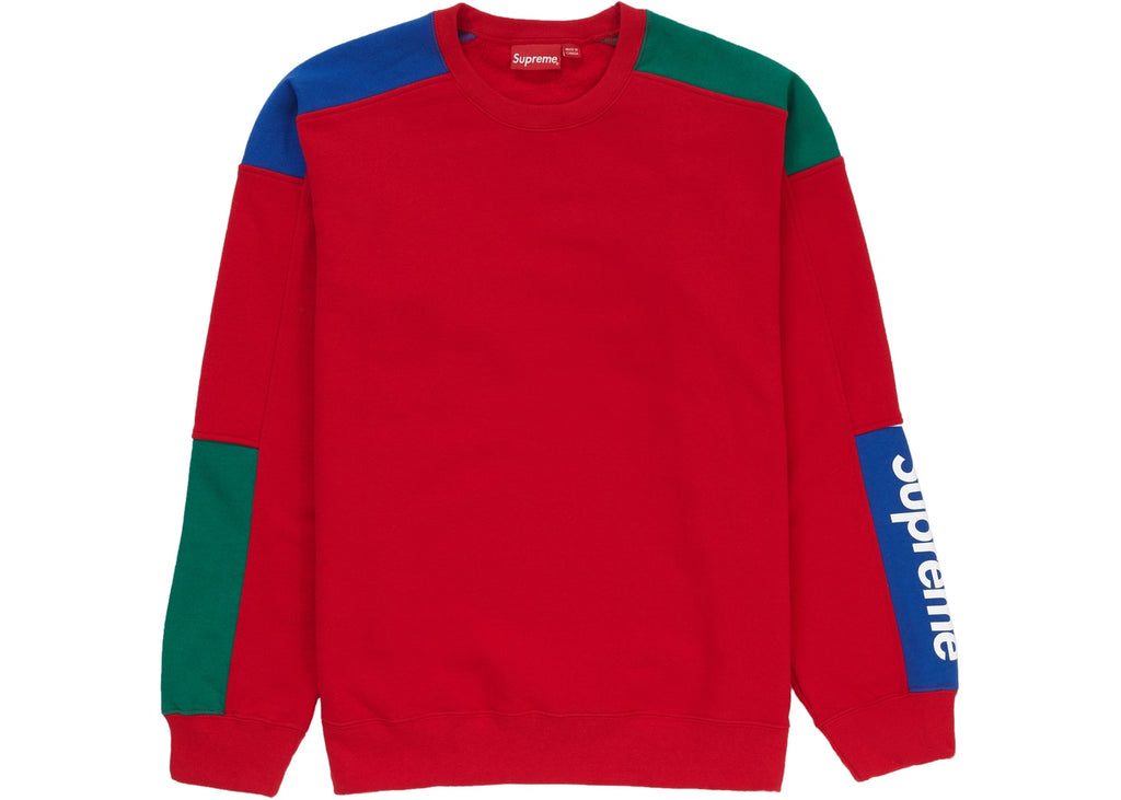 Supreme Formula Crewneck Red